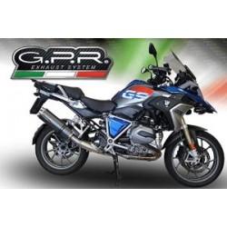 Auspuff GPR Dual für BMW R 1250 GS 19-20   Carbon