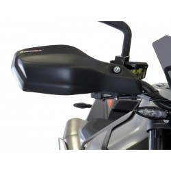 Bugspoiler Powerbronze - KTM 790 Duke / L - 18-20 | Matt Black-Silver Mesh