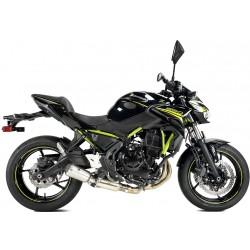 Komplettanlage Ixrace MK02 - Kawasaki Ninja 650 // Z650 20/+ | Silber