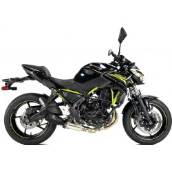 Komplettanlage Ixrace MK02 - Kawasaki Ninja 650 // Z650 20/+ | Schwartz