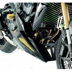 Bugspoiler Powerbronze schwarz silbermes Gewebe für KTM 790 Duke - 18\'
