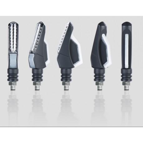 Clignotants à LED Chaft Tourer Noir/Fumé