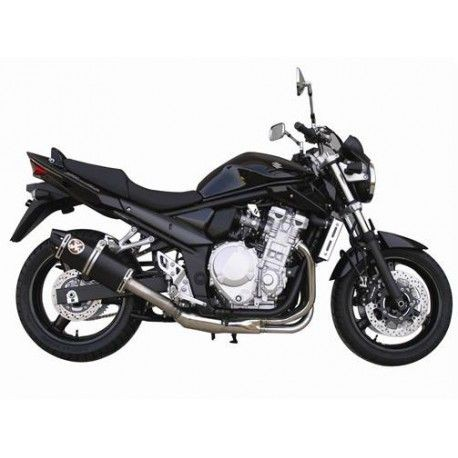 Auspuff Ixil Oval Xtrem noir - Suzuki GSF 1250 N Bandit // GSX 1250 FA 07-16
