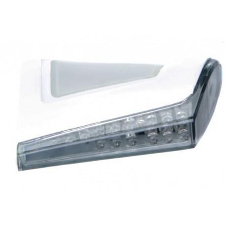 LED Blinker Chaft Flight weiss/smoke