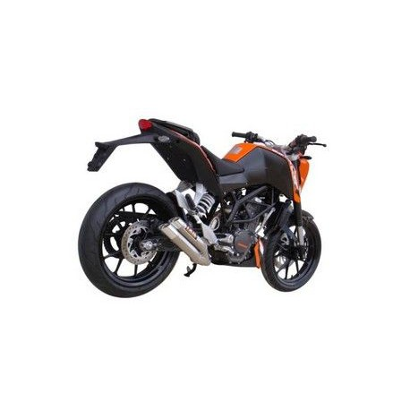 Exhaust Ixil Dual Hyperlow - Ktm Duke 125 / 200 11-15