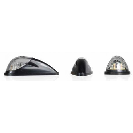 Clignotants LED Bullet avant noir/transparent