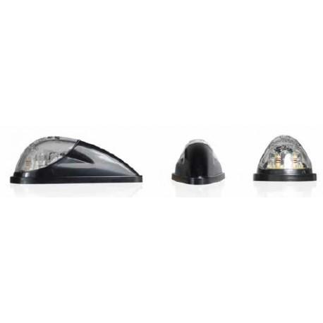 LED Turn Signal Bullet black / transparent