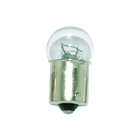Light bulb BA 15S transparent