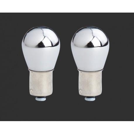 Ampoule BAU 15S chromé