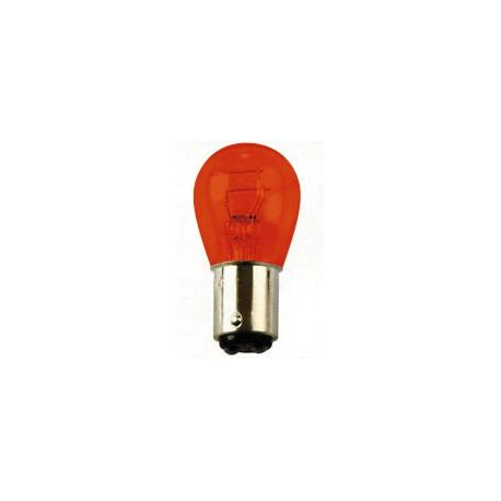 Light bulb BA 15D red