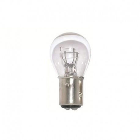 Light bulb BA 15D transparent