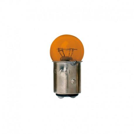 Light Bulb BAY 15D orange