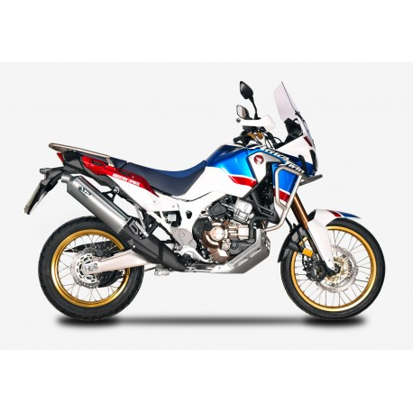Exhaust Spark Dakar Carbon for Honda CRF 1000 L Africa Twin 2016