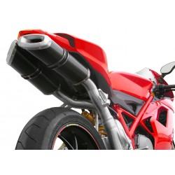 Auspuff Spark Megaphone Dark Style - Ducati Monster 696 08-14 / 796 10-14 / 1100 / S 09-10