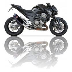 Auspuff Ixil Hexoval Xtrem schwarz - Kawasaki Z800