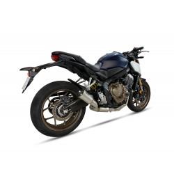 Komplettanlage Ixil RC - Honda CBR 650 R 19/+ // CB 650 R 19/+ | Silber