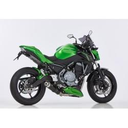 Komplettanlage Hurric Supersport - Kawasaki Z650 / NINJA 650 17-20 | Schwarz