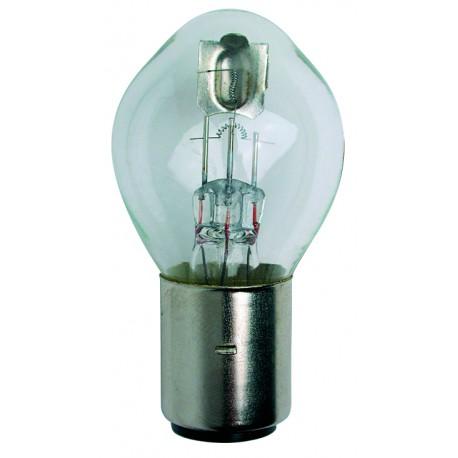 Light bulb BA 20D transparent