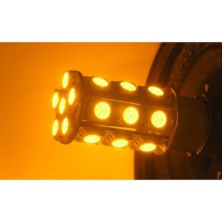 Light bulb LED P 21W orange