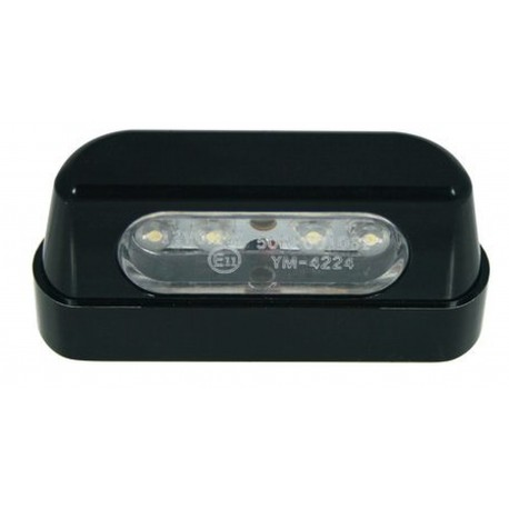 Rectangular License plate illuminating device CHAFT