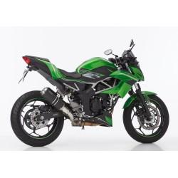 Auspuff Hurric Lap 1 - Kawasaki Ninja 125 // Z125 19/+ |Schwarz