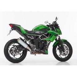 Auspuff Hurric TEC One - Kawasaki Ninja 125 // Z125 19/+ | Grau