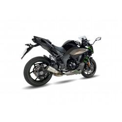 Auspuff Ixrace MK02 - Kawasaki Ninja 1000sx 20 /+  Silber