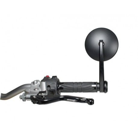 Rear-view mirror handle bar end Chaft Classic Handle black