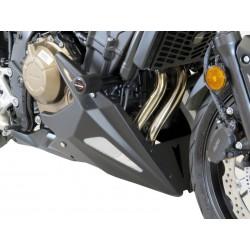 Bugspoiler Powerbronze - Honda CB500F7FA 16/+ // CB500X 16/+ | MATT BLACK-SILVER MESH