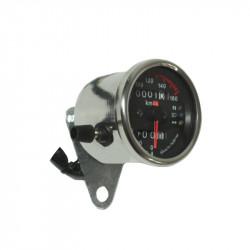 Tachometer Vintage Chaft | Schwarz