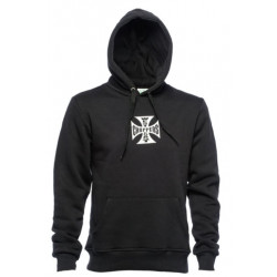 Hoodie West Coast Choppers OG Classic Noir | [1] Taille S