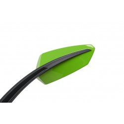 Rear-view mirror Chaft Twin green