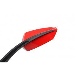 Rückspiegel Chaft Twin rot