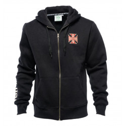 Hoodie West Coast Choppers El Diablo Zip Schwartz
