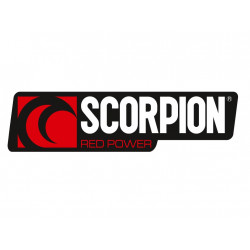SCORPION Aufkleber Querformat 35X125mm