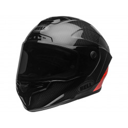 BELL Race Star Flex DLX Helm Lux Matte/Gloss Black/Red