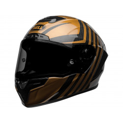 BELL Race Star Flex DLX Helm Mate/Gloss Black/Gold