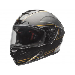 Casque BELL Race Star DLX Helm Ace Cafe Matte Black/Gold