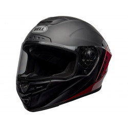 Casque BELL Star DLX Mips Shockwave Matte/Gloss Black/Candy Red