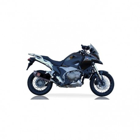 Echappement Ixil Hexoval Xtrem noir - Honda VFR 1200 X Crossrunner 12-16