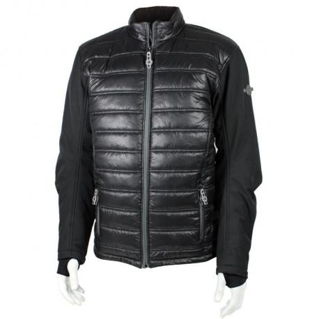 Veste Doudoune Textile Hybride Harisson noir