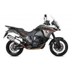 Auspuff Mivv Speed Edge für KTM Adventure 1090/1190/1290 | Inox
