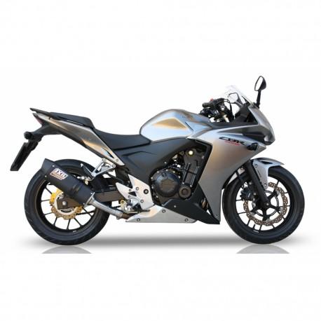 Echappement Ixil Hexoval Xtrem pour Honda CBR 500 R // CB 500 F / FA / X 13-18