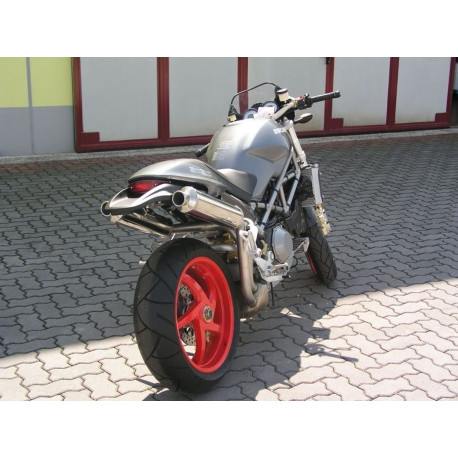 Exhaust Spark round - Ducati Monster S4R 03-06 / S2R 800-1000