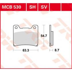 Plaquettes de frein TRW MCB530