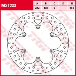 Bremsscheiben TRW MST233