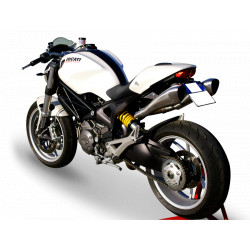 Exhaust Hpcorse Hydroform Silver - Ducati Monster 696/796/1100