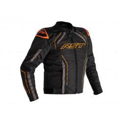 RST S-1 Jacke Textil Schwarz/Grau/Orange Herren