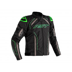 RST S-1 Jacket Textile Black/Grey/Neon Green Men