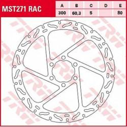 Disque de frein TRW MST271RAC
